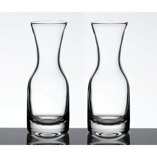 7 Oz. Wine Carafe (Set of 2) by Lillian Rose