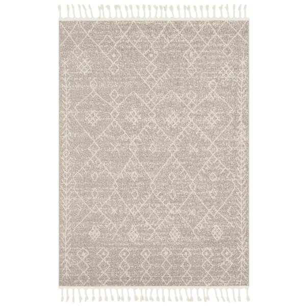 Hudgens Distressed Southwestern Beige/Ivory Area Rug by Laurel Foundry Modern Farmhouse