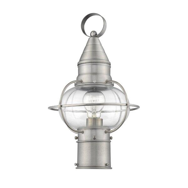 Wildwood Outdoor 1-Light Lantern Head by Breakwater Bay