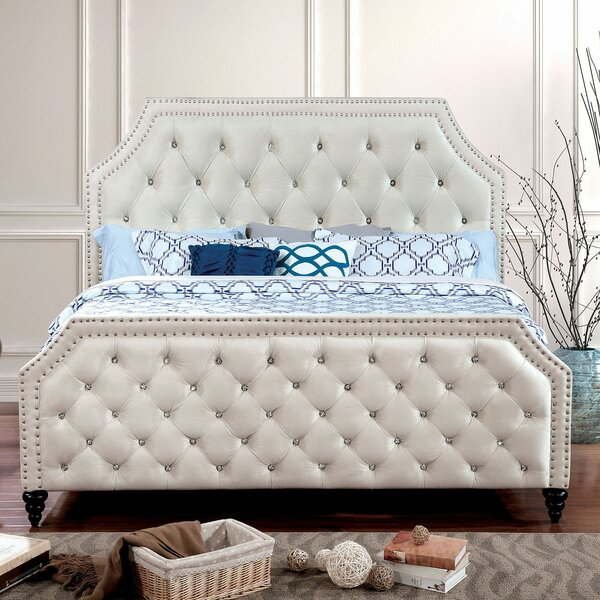Reinert Upholstered Standard Bed by Canora Grey