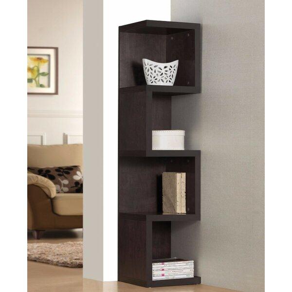 Luebke Wooden Standard Bookcase By Wrought Studio