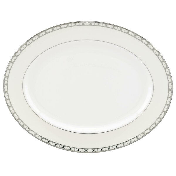 Signature Spade Oval Platter by kate spade new york