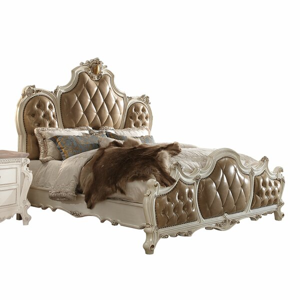 Cowart Upholstered Standard Bed by Fleur De Lis Living