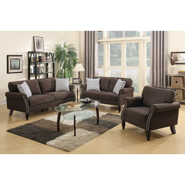 Izzo 2 Piece Living Room Set by Alcott Hill