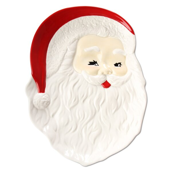 Sculpted Santa Platter by TAG