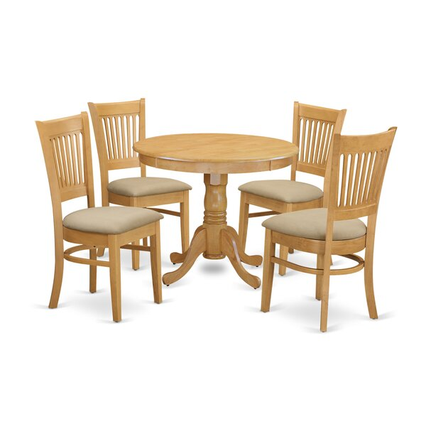 5 Piece Dining Set By Wooden Importers 2019 Online