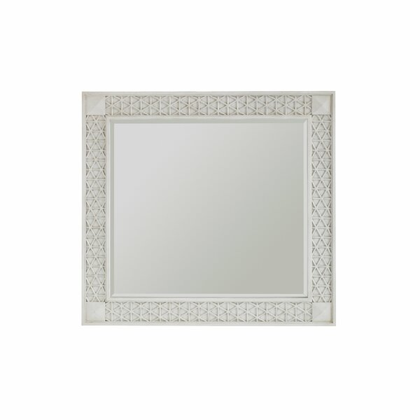Glover Accent Mirror by Rosecliff Heights