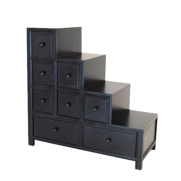 Lene Wooden Reversible Step 8 Drawer Dresser by Red Barrel Studio