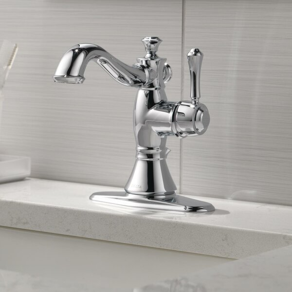 Cassidy® Single Hole Bathroom Faucet with Drain Assembly by Delta