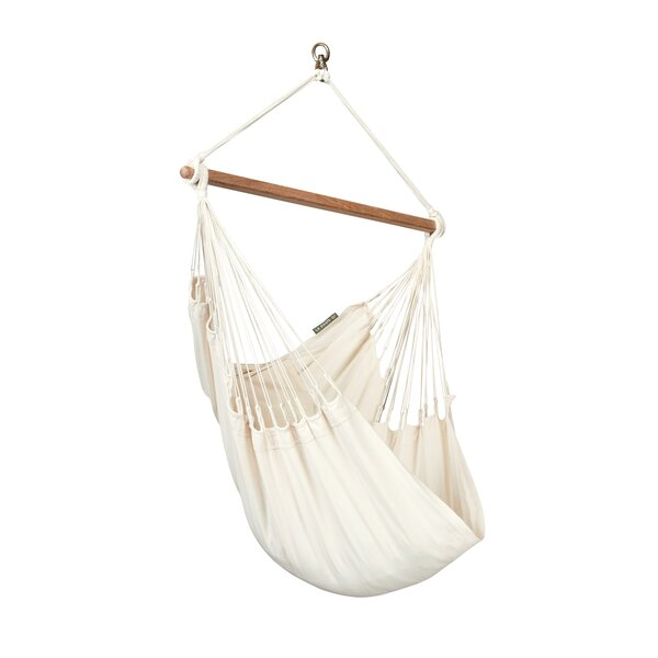 Modesta Basic Cotton Chair Hammock By LA SIESTA