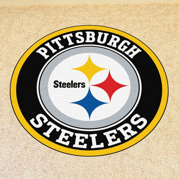 NFL Pittsburgh Steelers Roundel Mat by FANMATS