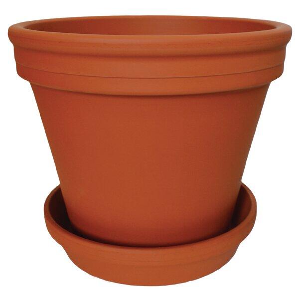 Amya Standard 2 Piece Terracotta Pot Planter Set by Charlton Home