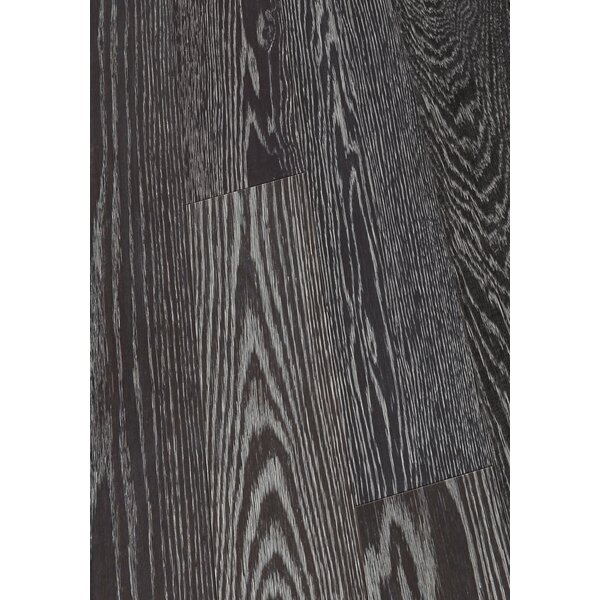 6 Engineered Oak Hardwood Flooring in Brushed Coal by Maritime Hardwood Floors