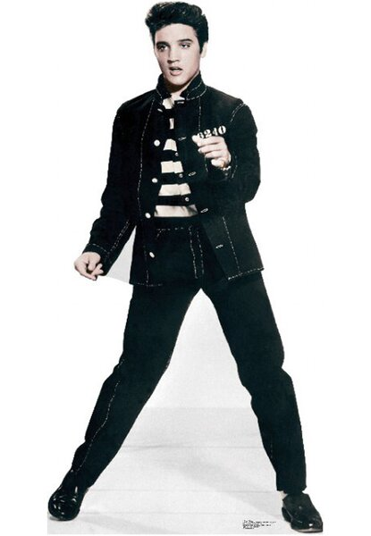 Elvis Presley Jailhouse Rock Cardboard Stand-Up by