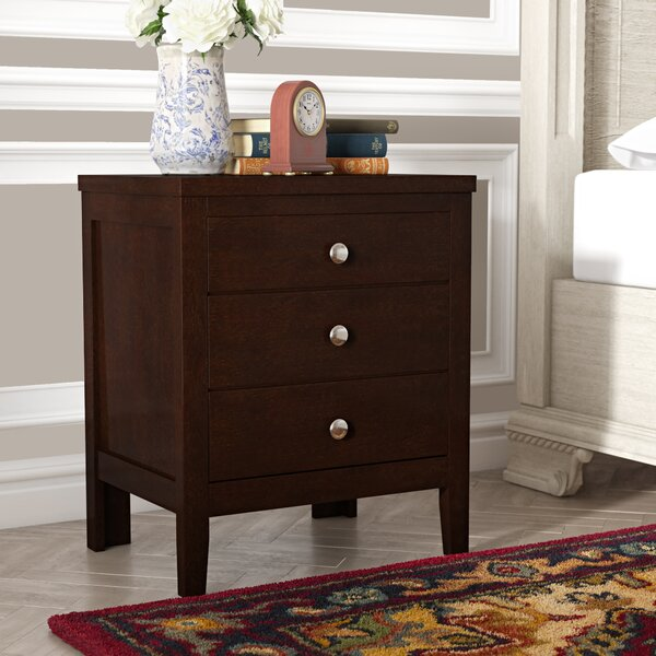 Conrad 3 Drawer Nightstand by Red Barrel Studio