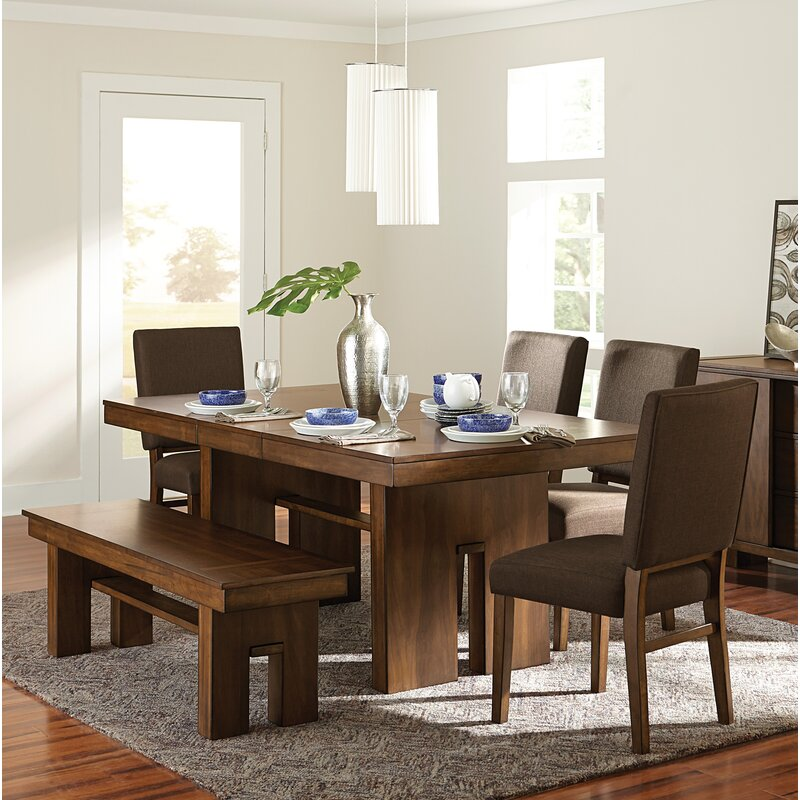 Huntley 6 Extendable Piece Dining Set
