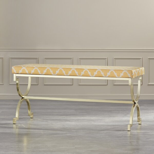 Kare Metal Bench by Willa Arlo Interiors