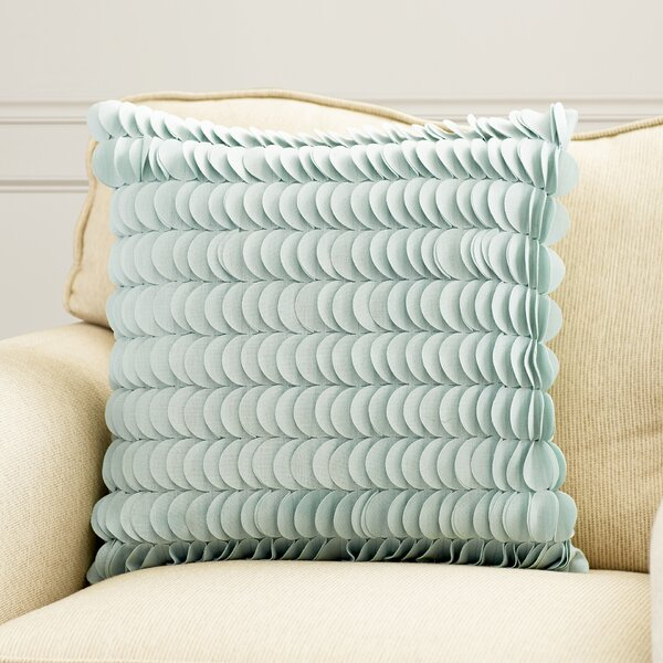 Hyacinthe Textured Circle Throw Pillow by Willa Arlo Interiors