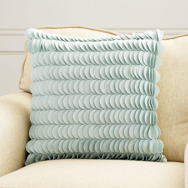 Hyacinthe Textured Circle Throw Pillow by Willa Arlo Interiors