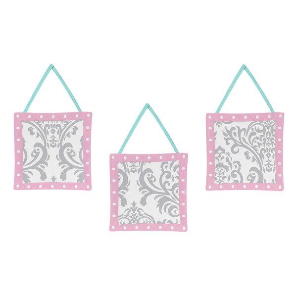 Plaid 3 Piece Wall Hangings Set by Sweet Jojo Designs