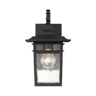 Crespo 1-Light Outdoor Wall Lantern By Breakwater Bay Outdoor Lighting