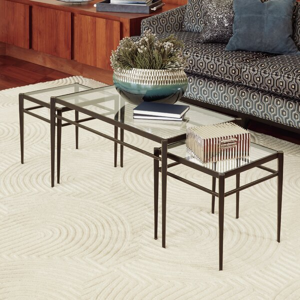 Lescot 3 Piece Nesting Tables by Global Views
