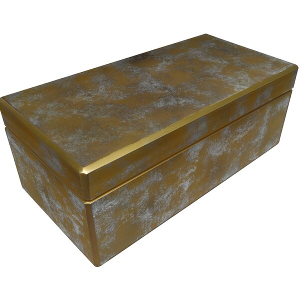Decorative Reverse Painted Mirror Box by Arcadia Home