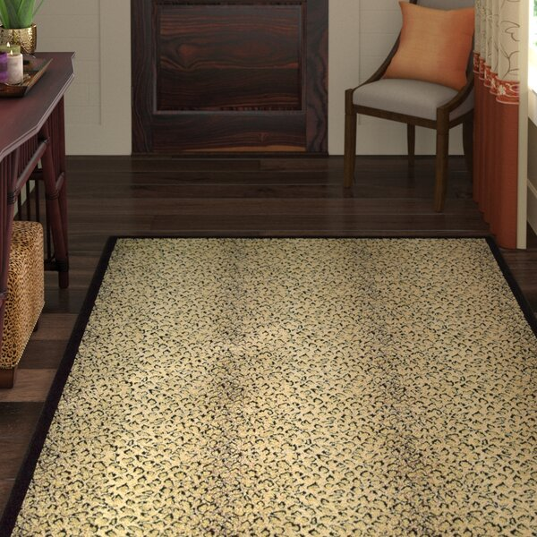 Sana Animal Print Area Rug by World Menagerie