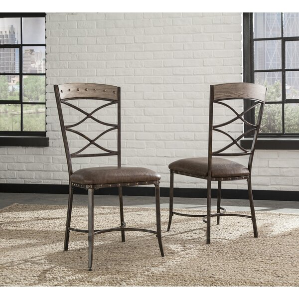 Luxton Upholstered Dining Chair (Set of 2) by Loon Peak