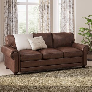 Lambdin Leather Sofa