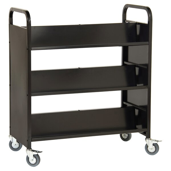 Double Sided Book Cart By Guidecraft.