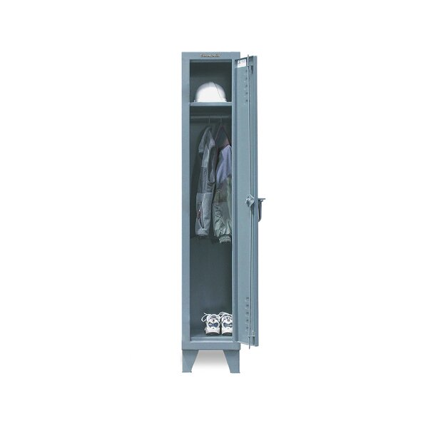 2 Tier 1 Wide School Locker by Strong Hold Products