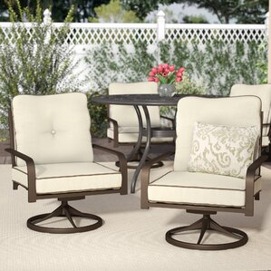 Captivating Thelma Swivel Lounge Chair (Set Of 2)
