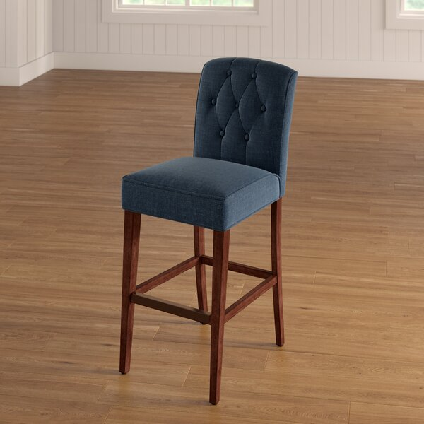 Cayman 30 Bar Stool by Three Posts