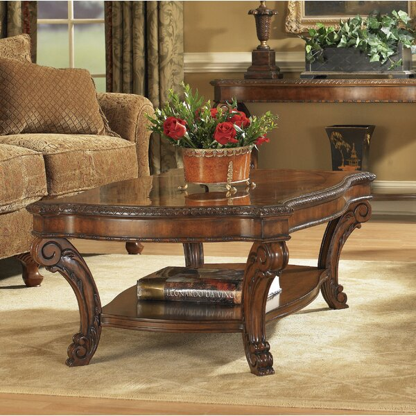 Brussels Coffee Table With Storage By Astoria Grand
