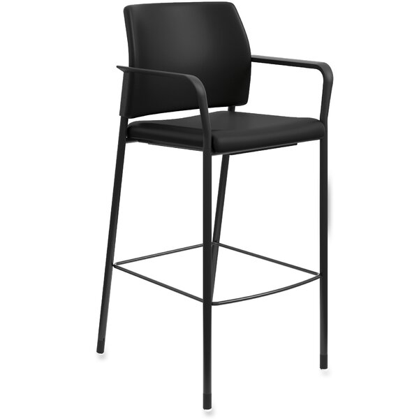 Fixed Arms Bar Stool by HON HON
