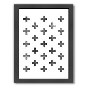Swiss Cross Framed Graphic Art Print by Americanflat