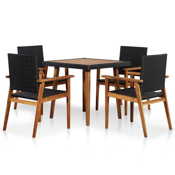 Fortier 5 Piece Dining Set by Sol 72 Outdoor