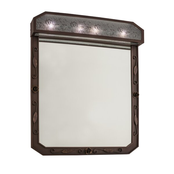 Arabesque Lighted Bathroom/Vanity Mirror
