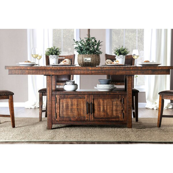 Macleod Dining Table by Millwood Pines Millwood Pines