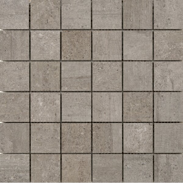 Formwork 2 x 2 Porcelain Mosaic Tile in Union by Emser Tile