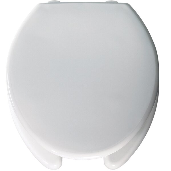 Medic-Aid Open Front Round Raised Toilet Seat by Bemis