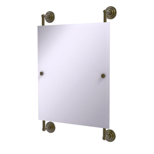 Que New Wall Mirror by Allied Brass