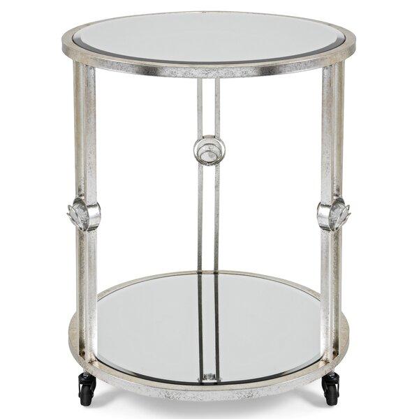 Aguilar Mirror End Table by Latitude Run