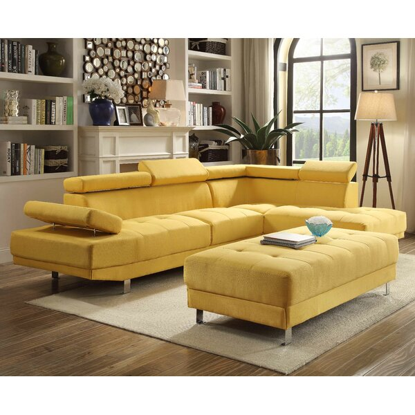 Verena Sectional by Wade Logan