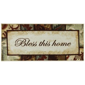 Ayers Village Rules to Live By Kaleidoscope Mat