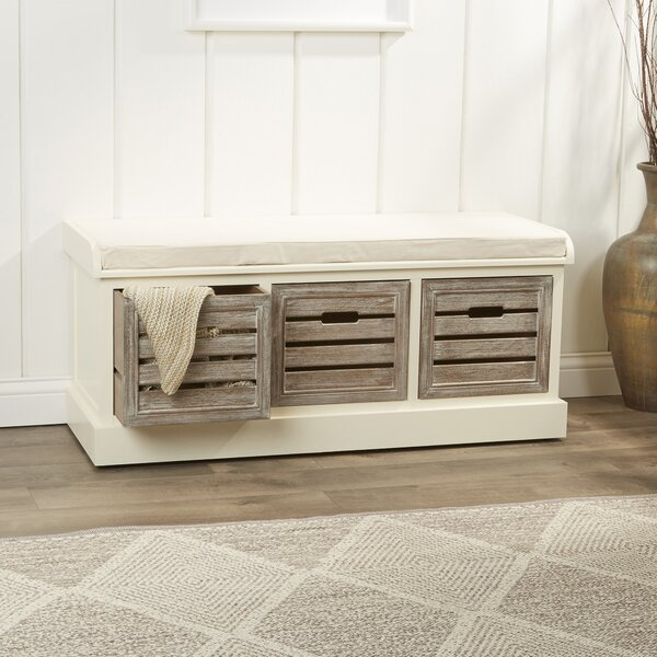 Sonderborg Wood Storage Bench by Laurel Foundry Mo