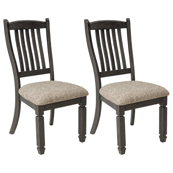 Ventanas Upholstered Dining Chair (Set of 2) by Canora Grey