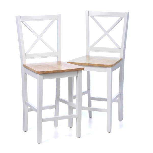Sally 30 Bar Stool (Set of 2) by August Grove