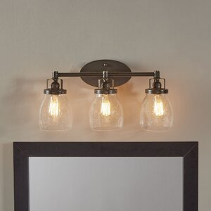 Panorama Point Heirloom Bronze 3 Light Vanity Light